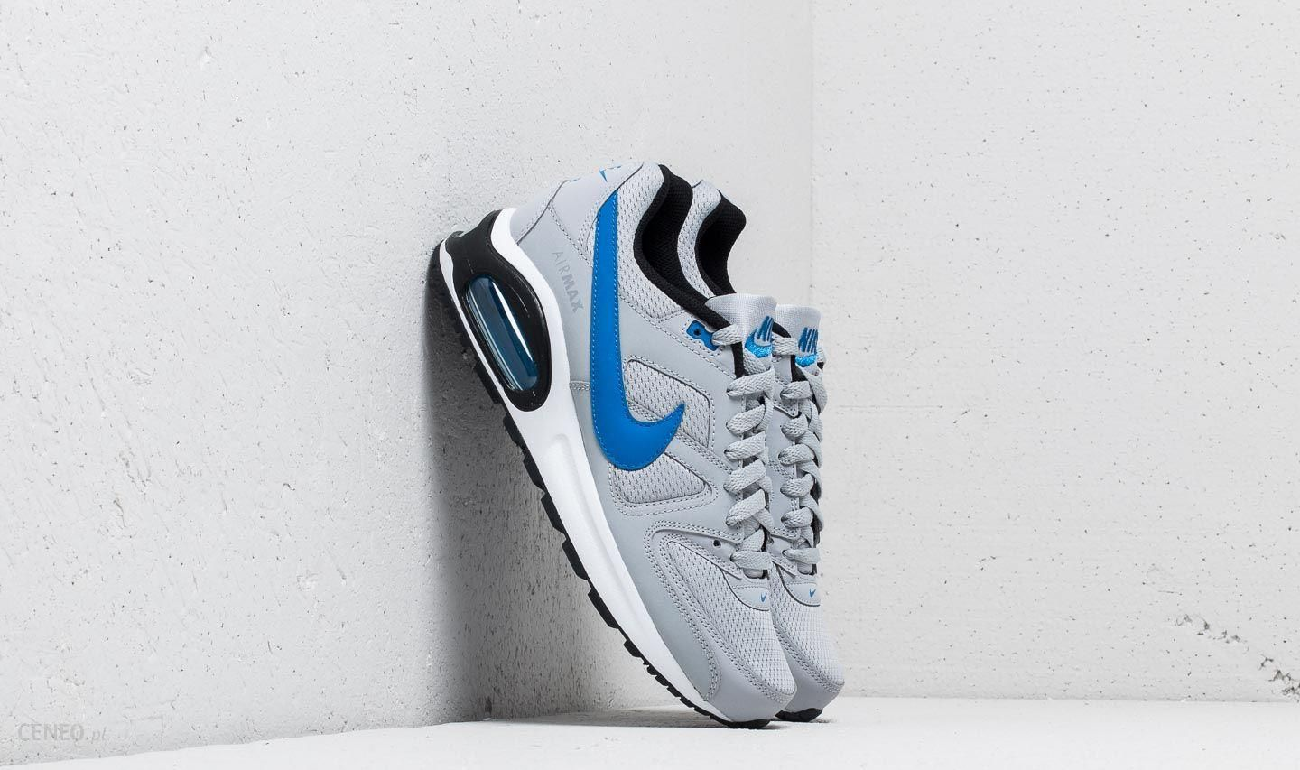 timeless design f9258 77194 Nike Air Max Command Flex (GS) Wolf Grey  Signal Blue-Black -
