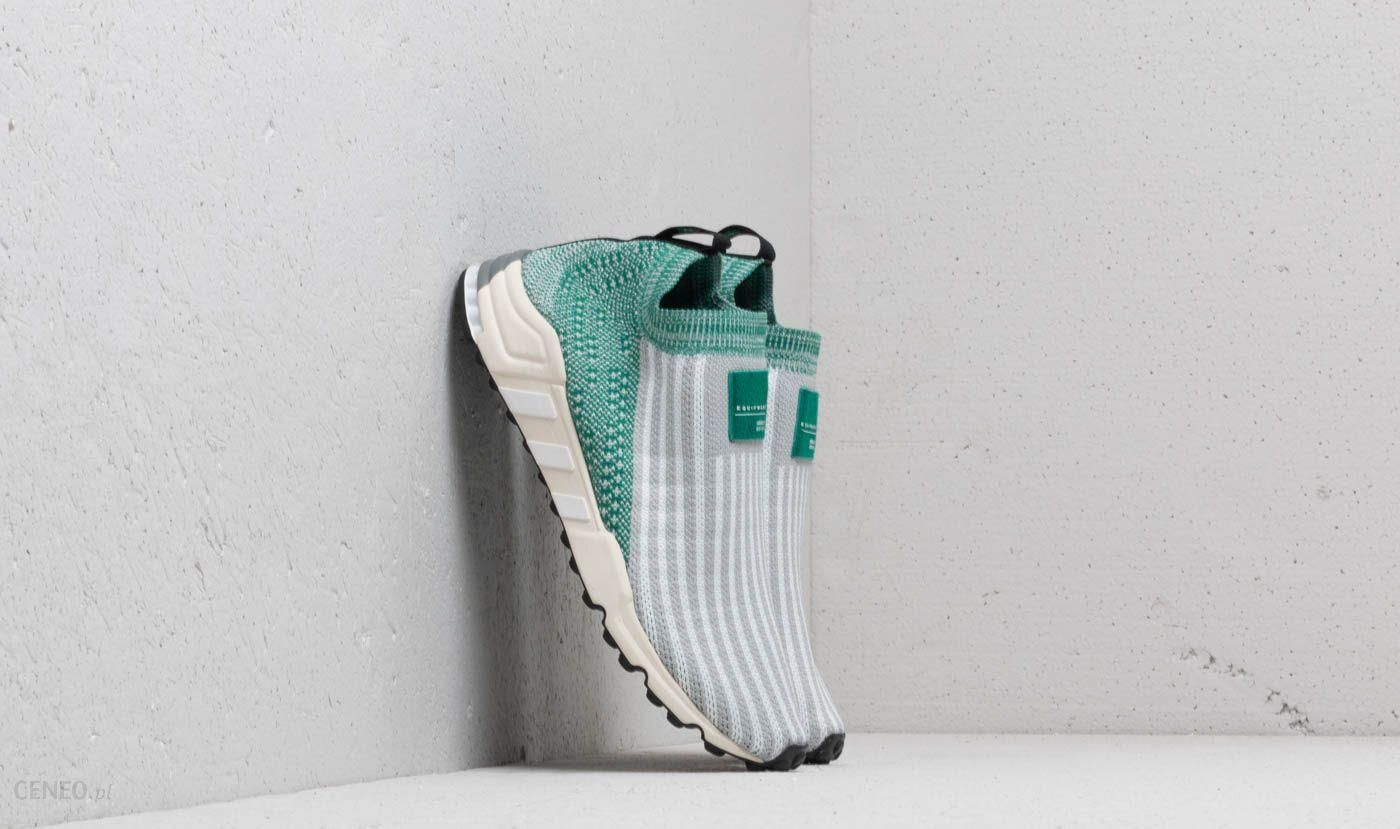 Adidas EQT Support SK Primeknit Grey Two Ftw White Sub Green Ceneo.pl