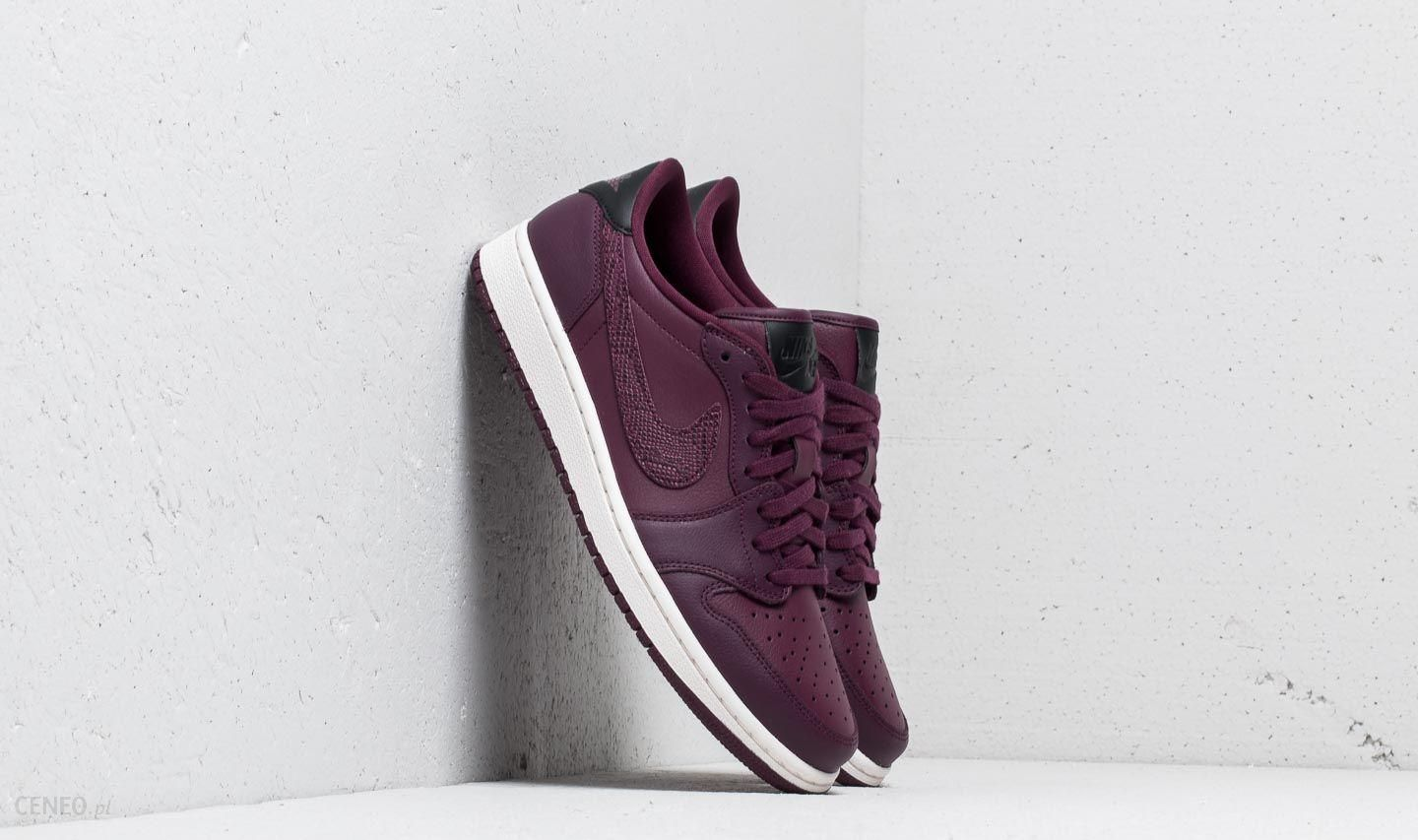 timeless design 7c824 e3a6d Wmns Air Jordan 1 Retro Low OG Bordeaux  Black-Phantom - zdjęcie 1