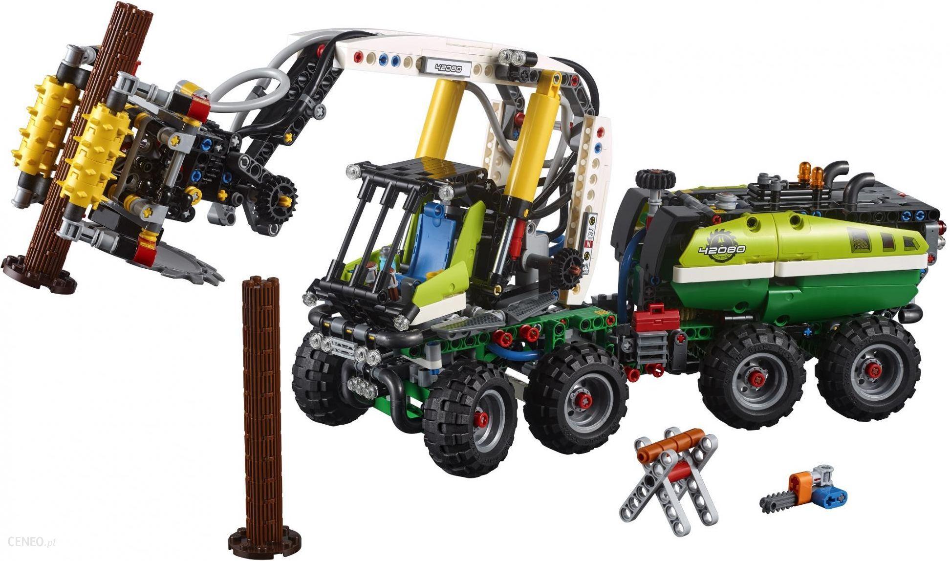 Klocki Lego Technic Maszyna Leśna 42080 Ceny I Opinie Ceneopl