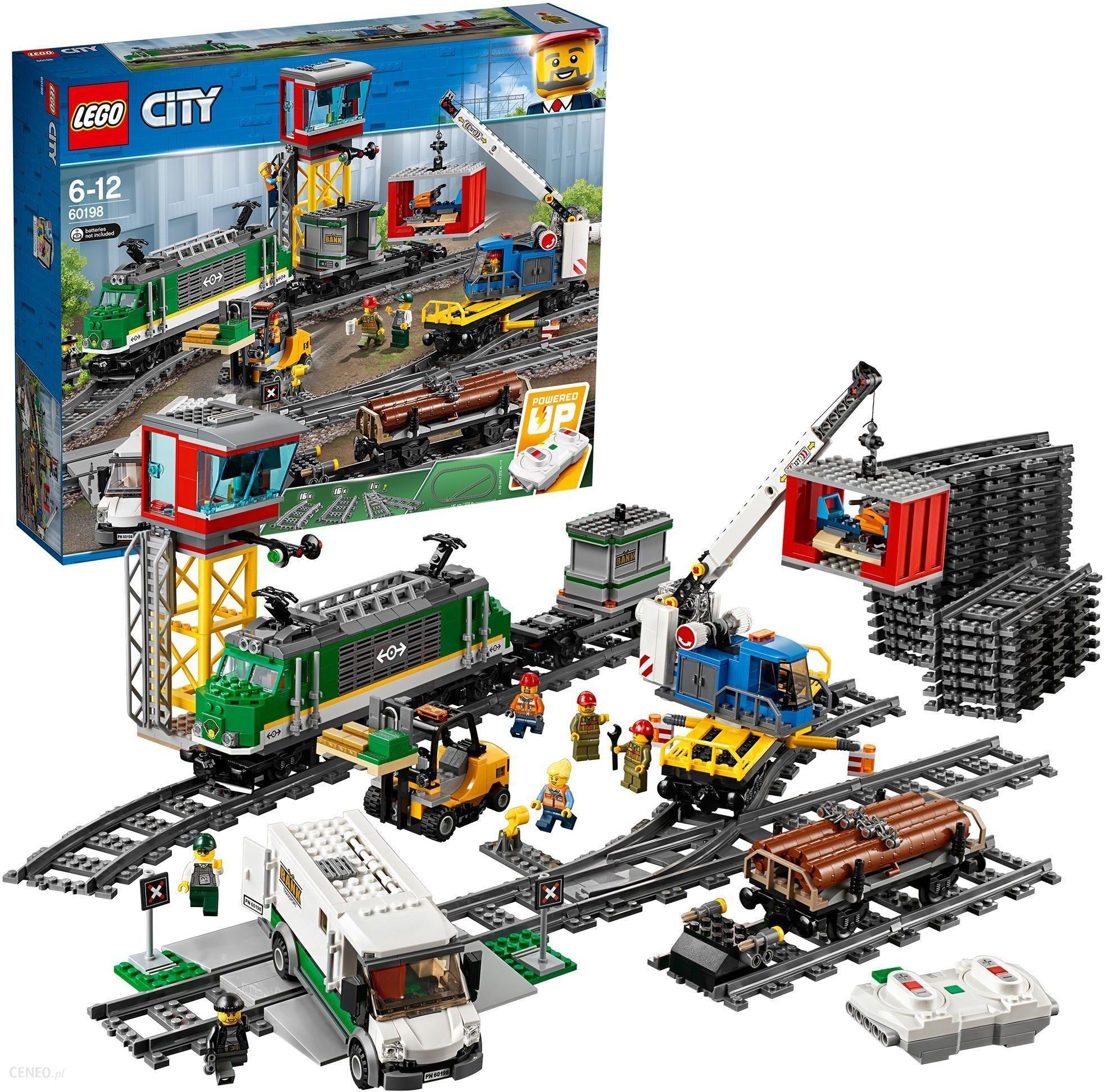 Klocki Lego City Pociąg Towarowy 60198 Ceny I Opinie Ceneopl