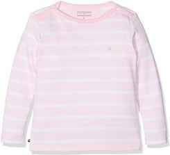 Amazon Tommy Hilfiger Baby-dziewczęca koszulka z długim rękawem Light BN  Knit L S e4ab689cb9