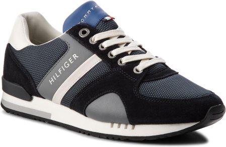 huge discount 30965 cdbae Sneakersy TOMMY HILFIGER - New Iconic Sporty Runner FM0FM01655 Midnight 403  eobuwie. Buty sportowe męskie ...