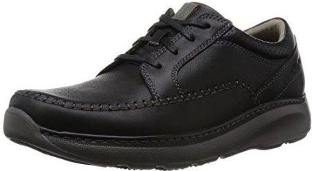 fe6ee5ef Amazon Clarks charton Vibe Derby męskie sznurowane półbuty, kolor: czarny  (Black Leather)