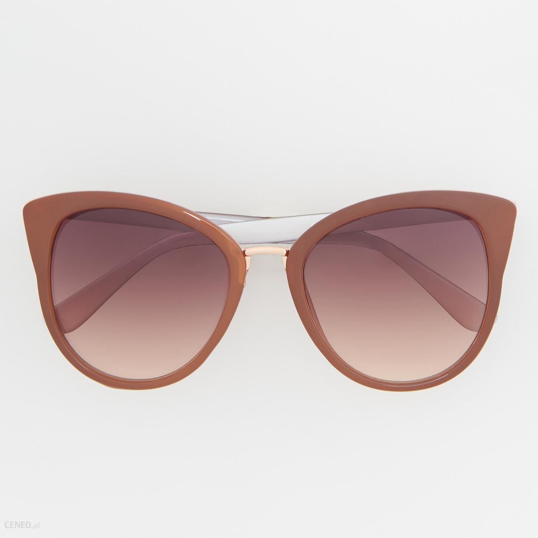 5a4733a4cec Reserved - Okulary przeciwsłoneczne - Różowy - Ceny i opinie - Ceneo.pl