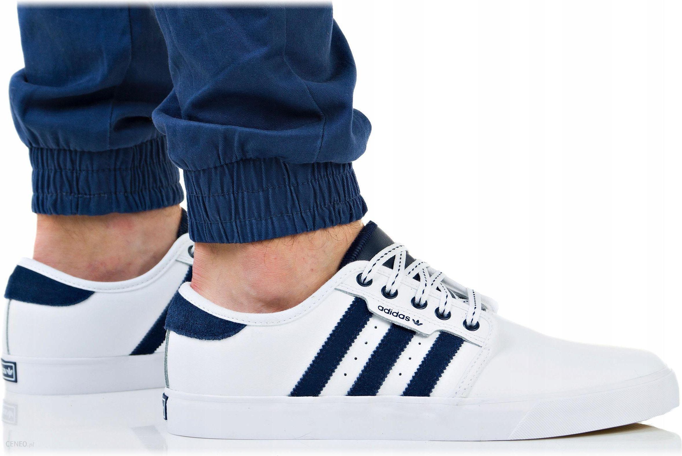 Buty Adidas Męskie Seeley B27787 Białe Trampki