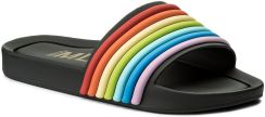 Klapki MELISSA Beach Slide 3DB 32389 Black Rainbow 53302