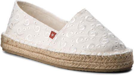 608c609900b34 Pepe Jeans Biało beżowe espadryle sznurowane (41) - Ceny i opinie ...