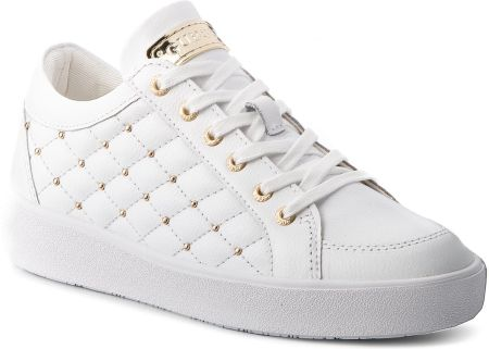Sneakersy GUESS - FLGLN3 LEA12 WHITE