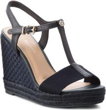 6f10be9bb06af Espadryle TOMMY HILFIGER - Iconic Elena Pop Color FW0FW02249 Midnight 403  eobuwie