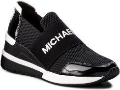 7d8bee13 Sneakersy MICHAEL KORS - Felix Trainer 43T8FXFS3D Black eobuwie