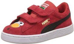 Amazon PUMA Sesame Street Suede Elmo zamszu dzieci?ce teniswki buty nowo??, czerwony Ceny i opinie Ceneo.pl