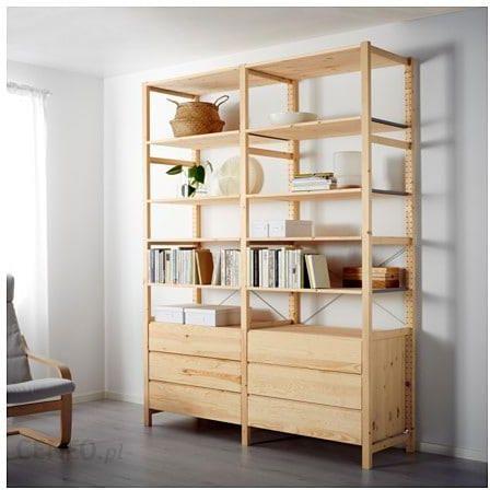 Ikea Ivar 2 Sekcje Półki Komoda S29897427 Opinie I Atrakcyjne Ceny Na Ceneopl