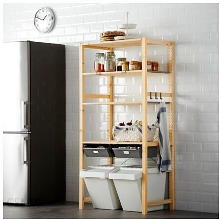 Ikea Ivar 1 Sekcja Półki Szuflady S49133584 Opinie I Atrakcyjne Ceny Na Ceneopl