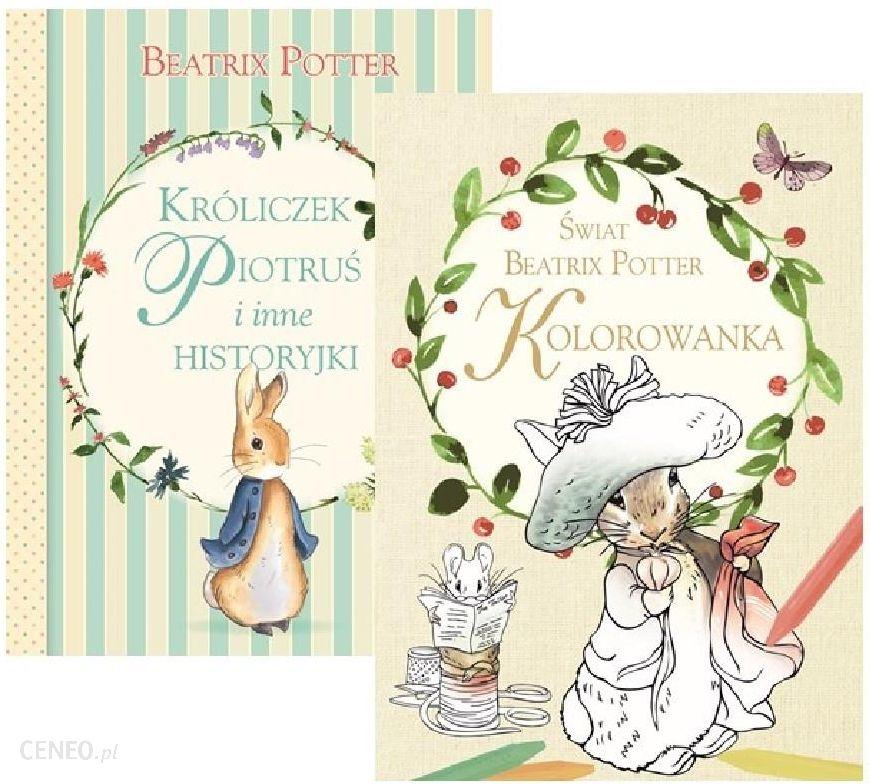 736964e9c2 Pakiet Króliczek Piotruś i inne historyjki   Świat Beatrix Potter  Kolorowanka - zdjęcie 1