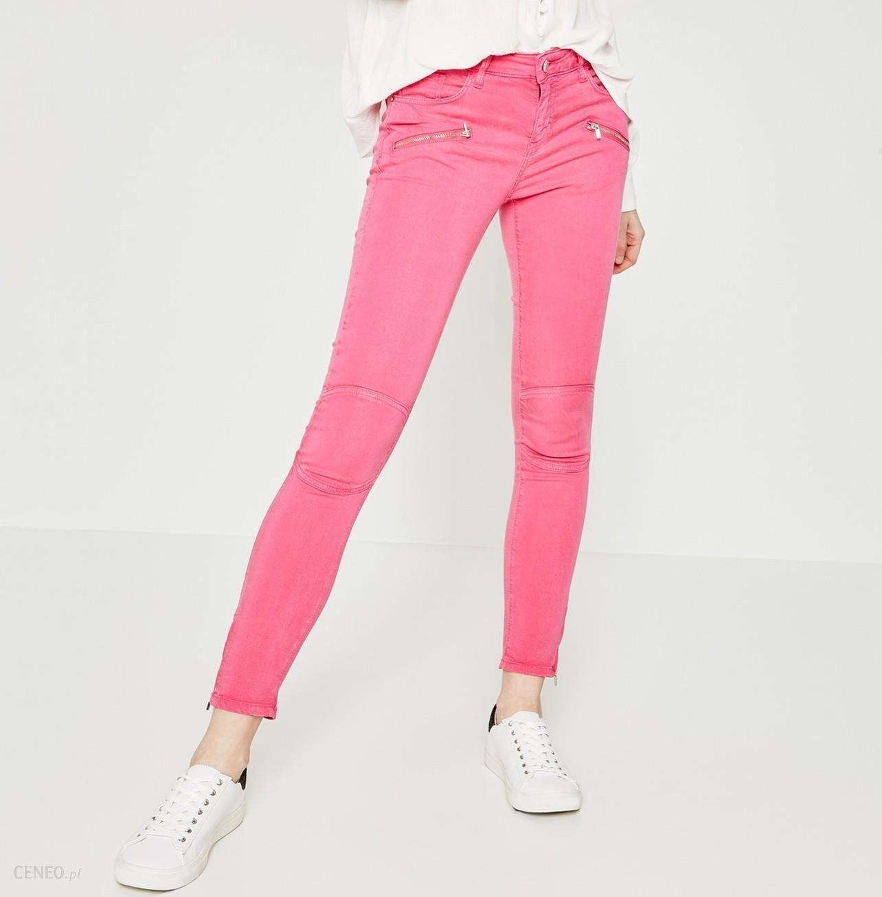 0182fdead3 Promod Spodnie skinny - Ceny i opinie - Ceneo.pl