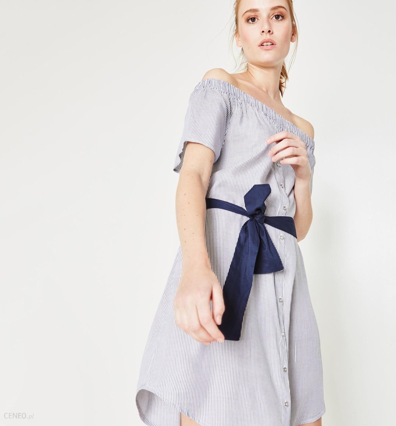 a4dba3e1c0 Promod Sukienka z odkrytymi ramionami - Ceny i opinie - Ceneo.pl