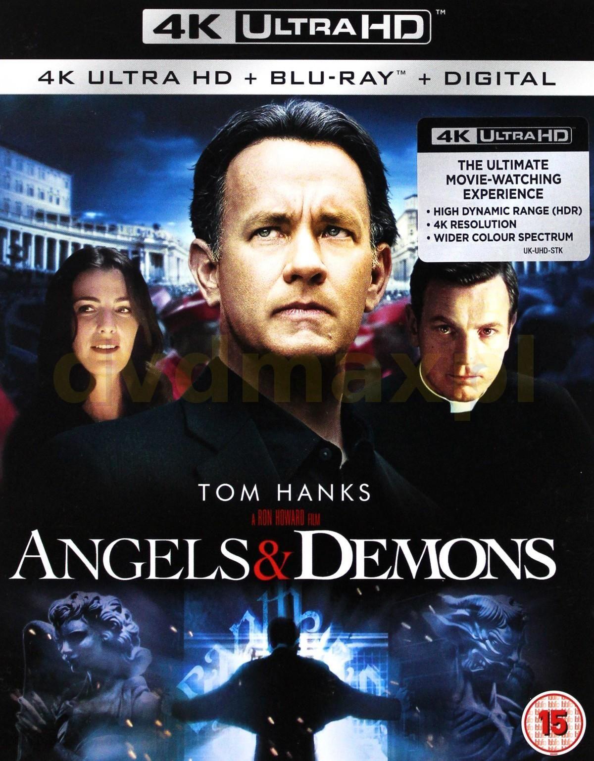 Film Blu Ray Angels Demons Blu Ray 4k Blu Ray Ceny I Opinie