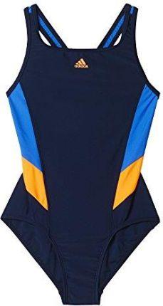 5aa47570b5af91 Strój kąpielowy adidas Essence Flare Colorblocked Junior BP5761 116 ...