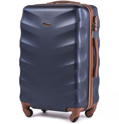 a5a1f0efd9918 Średnia walizka KEMER 402 M Granatowa - granatowy