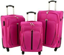 7bd0676b4c0c2 Mała kabinowa walizka KEMER 1706 S Różowa - różowy