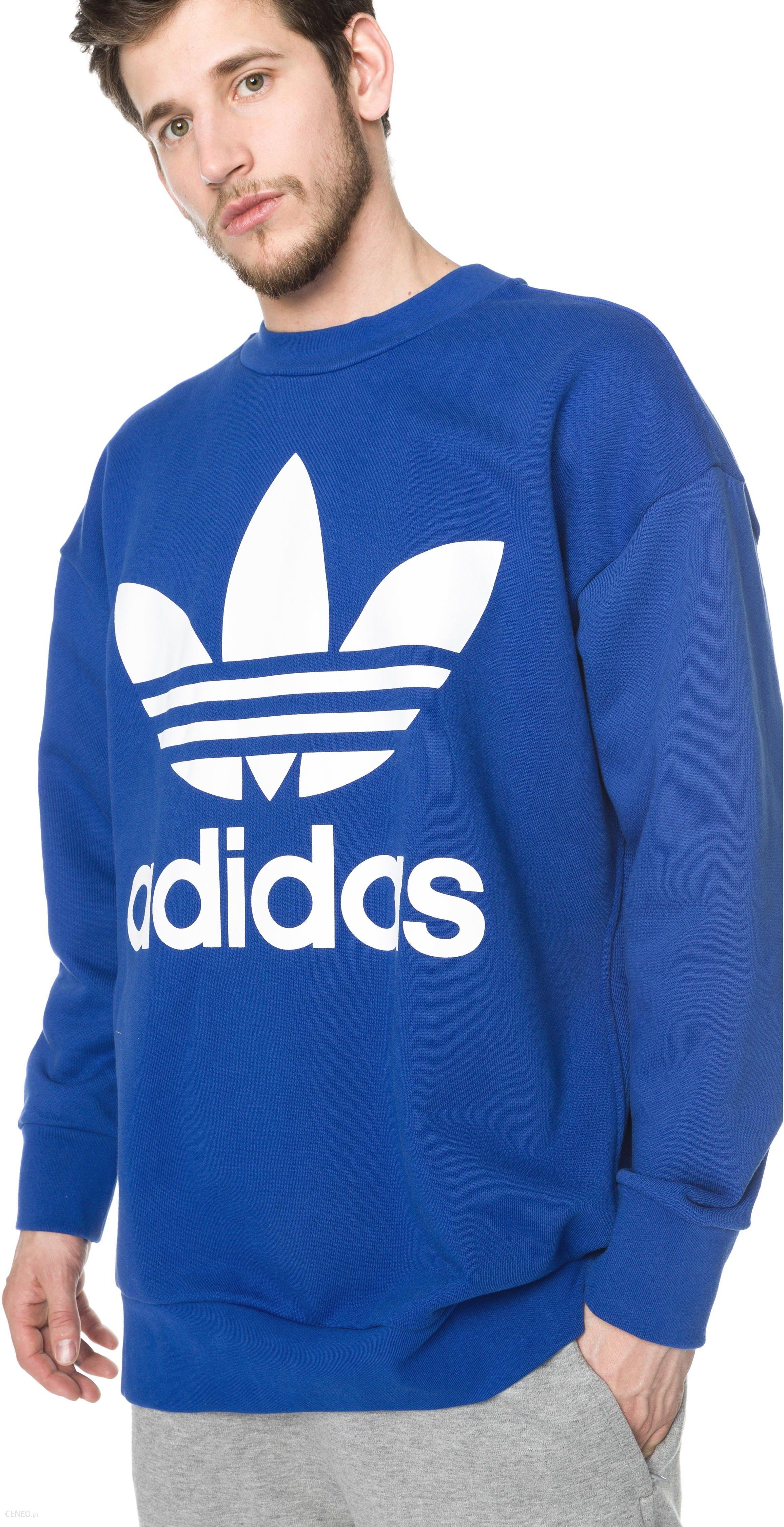 Adidas Originals Trefoil Bluza Niebieski L Ceny i opinie Ceneo.pl