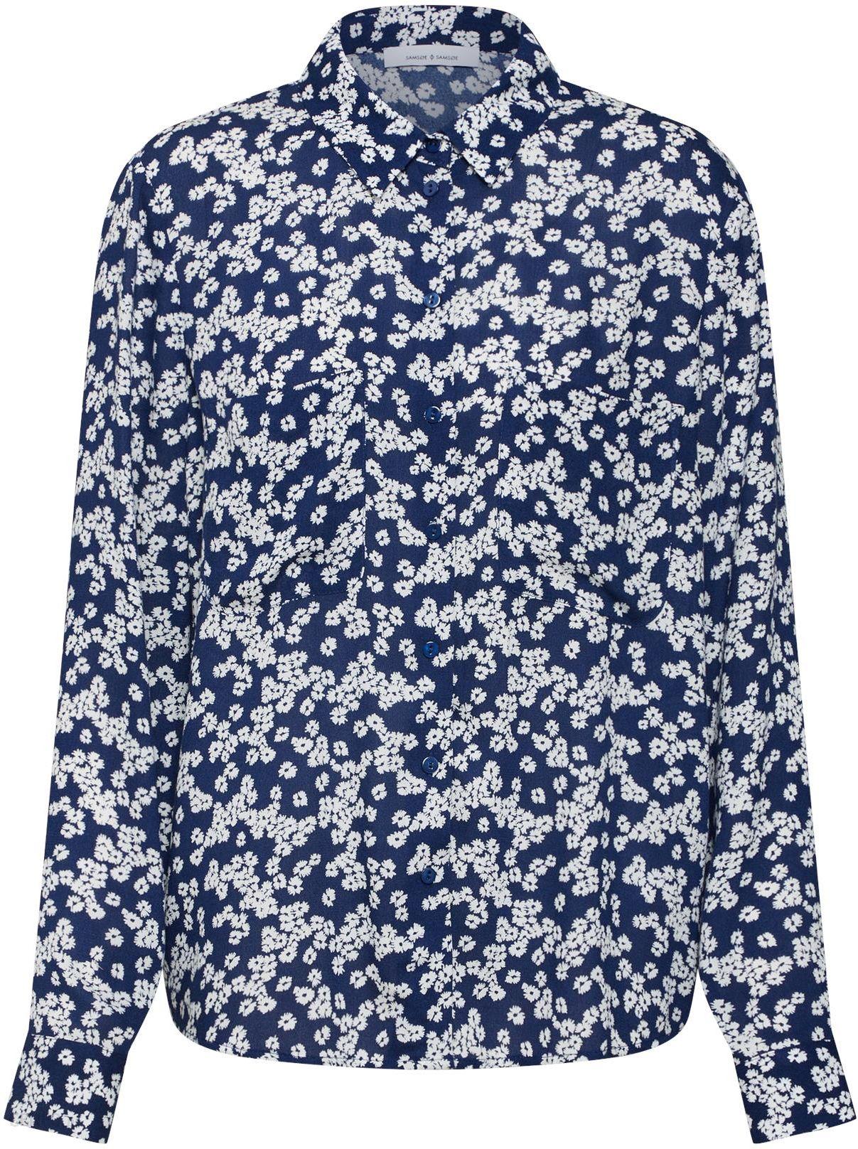 2084dcf693e9 Samsoe & Samsoe Bluzka 'Milly shirt aop 7201' - Ceny i opinie - Ceneo.pl