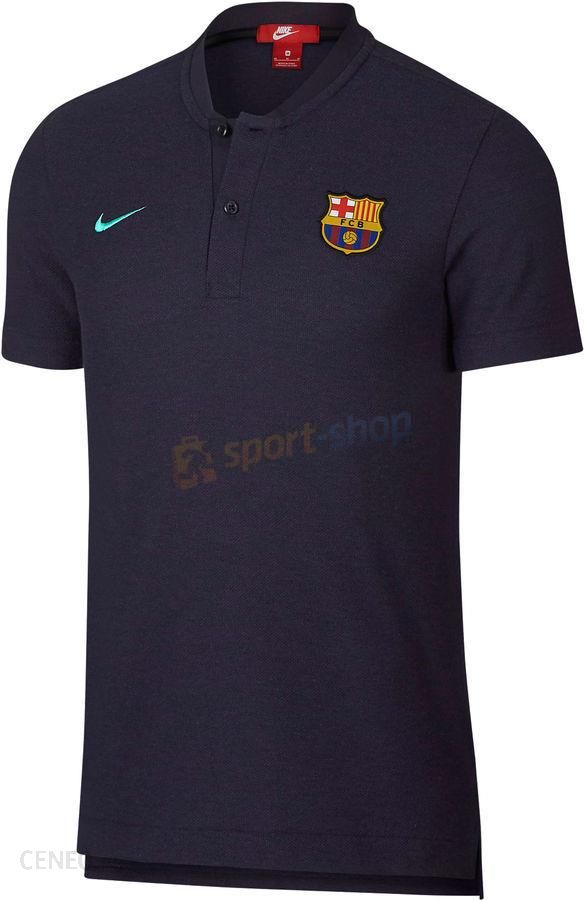 official photos 253c8 2f006 Koszulka polo FC Barcelona Authentic Grand Slam Nike (granatowa) - zdjęcie 1