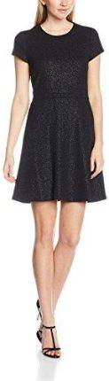 8280af2312 Amazon Esprit damski sukienka 116ee1e013 - A-linie czarny (black 001)