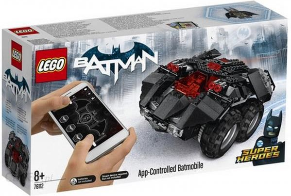 Klocki Lego Super Heroes Zdalnie Sterowany Batmobil 76112 Ceny I