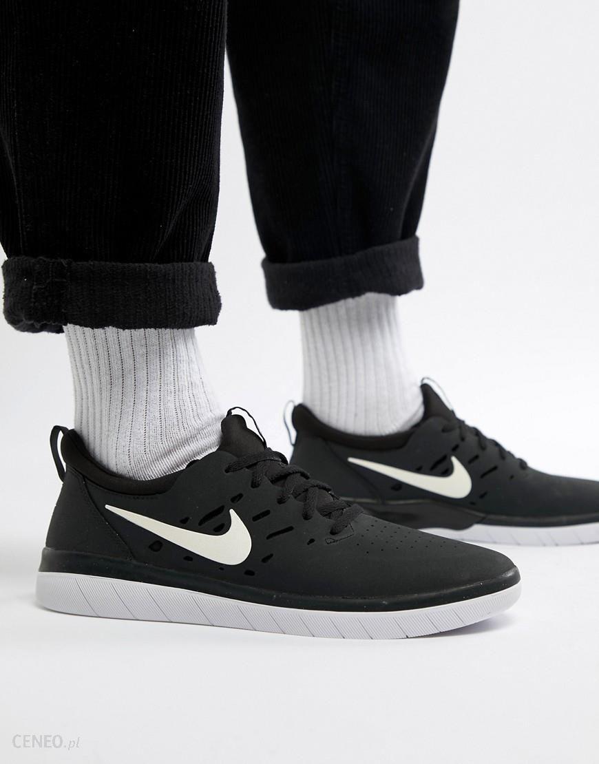 Nike SB Nyjah Free Skateboarding Trainers In Black AA4272 001 Black Ceneo.pl