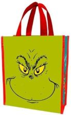 Vandor Dr Suess Grinch Naughty or Nice Recycled Shopper Tote Treat Bag (VA17573ST)