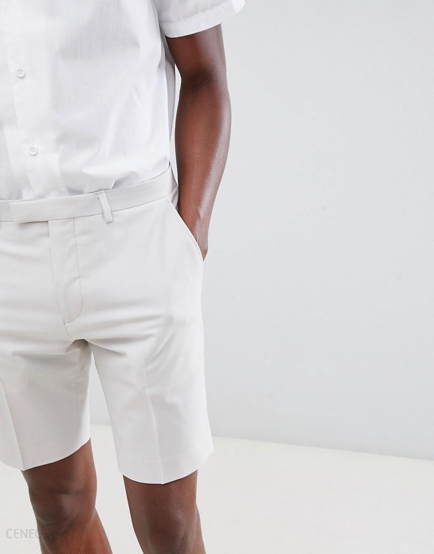 Twisted Tailor wedding smart shorts in grey - Grey - zdjęcie 1 115f107aff