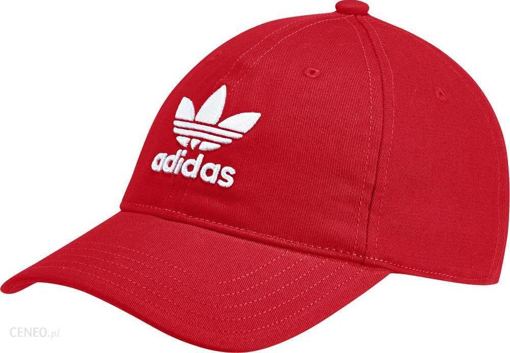 adidas Originals Trefoil Logo Cap In Red DJ0884 Red
