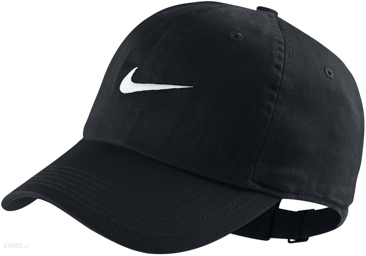 Czapka Z Daszkiem Nike 546178 010 Czarna Na Lato