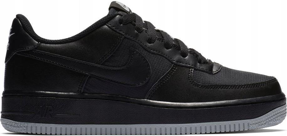 buty nike czarne niskie