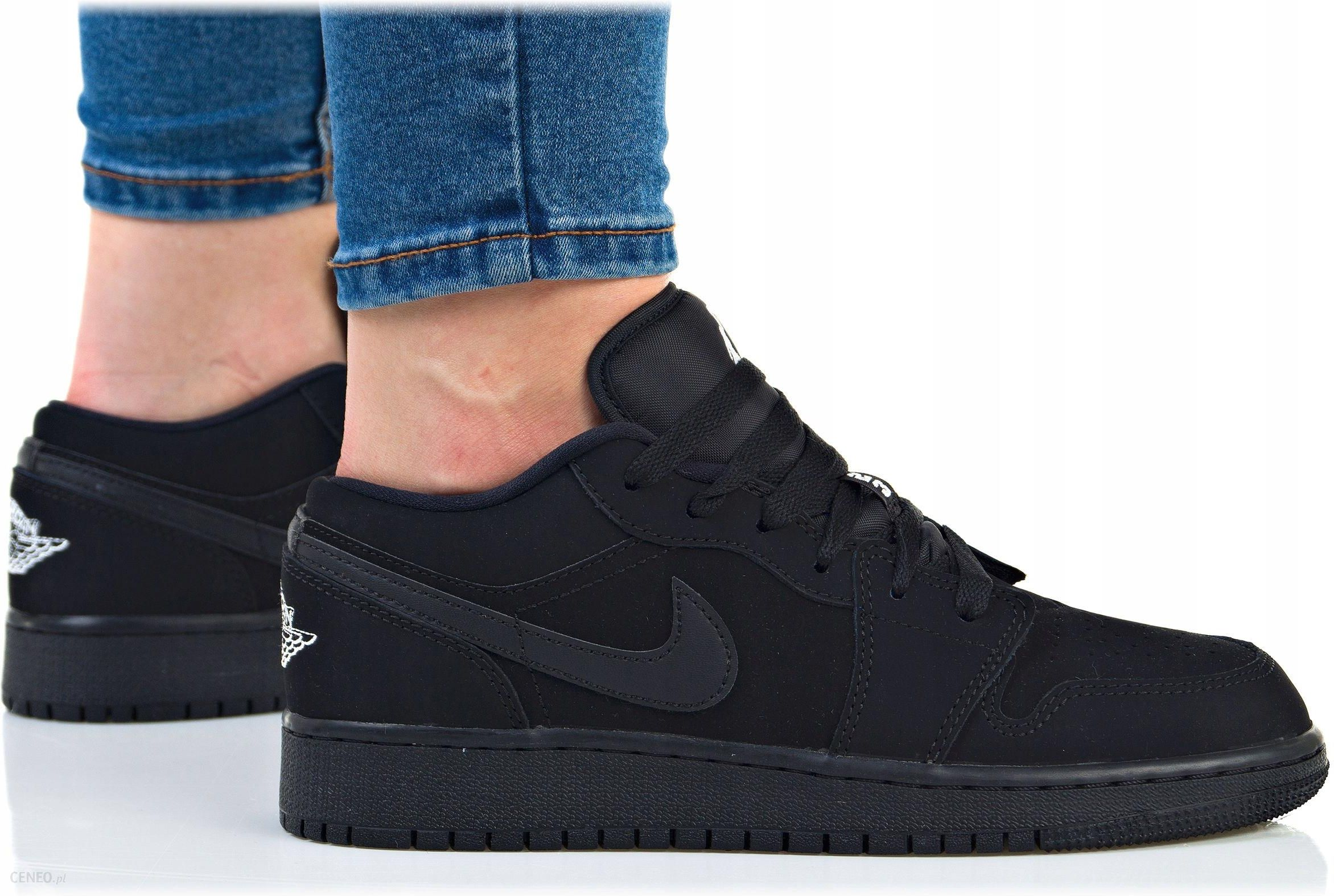 Buty Nike Damskie Air Jordan 1 Low (bg) 553560-019 - Ceny i opinie ... f577ae0f89a