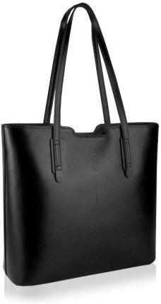 5dbf551bcfcf Skórzana torebka damska shopper bag włoska ramię Allegro