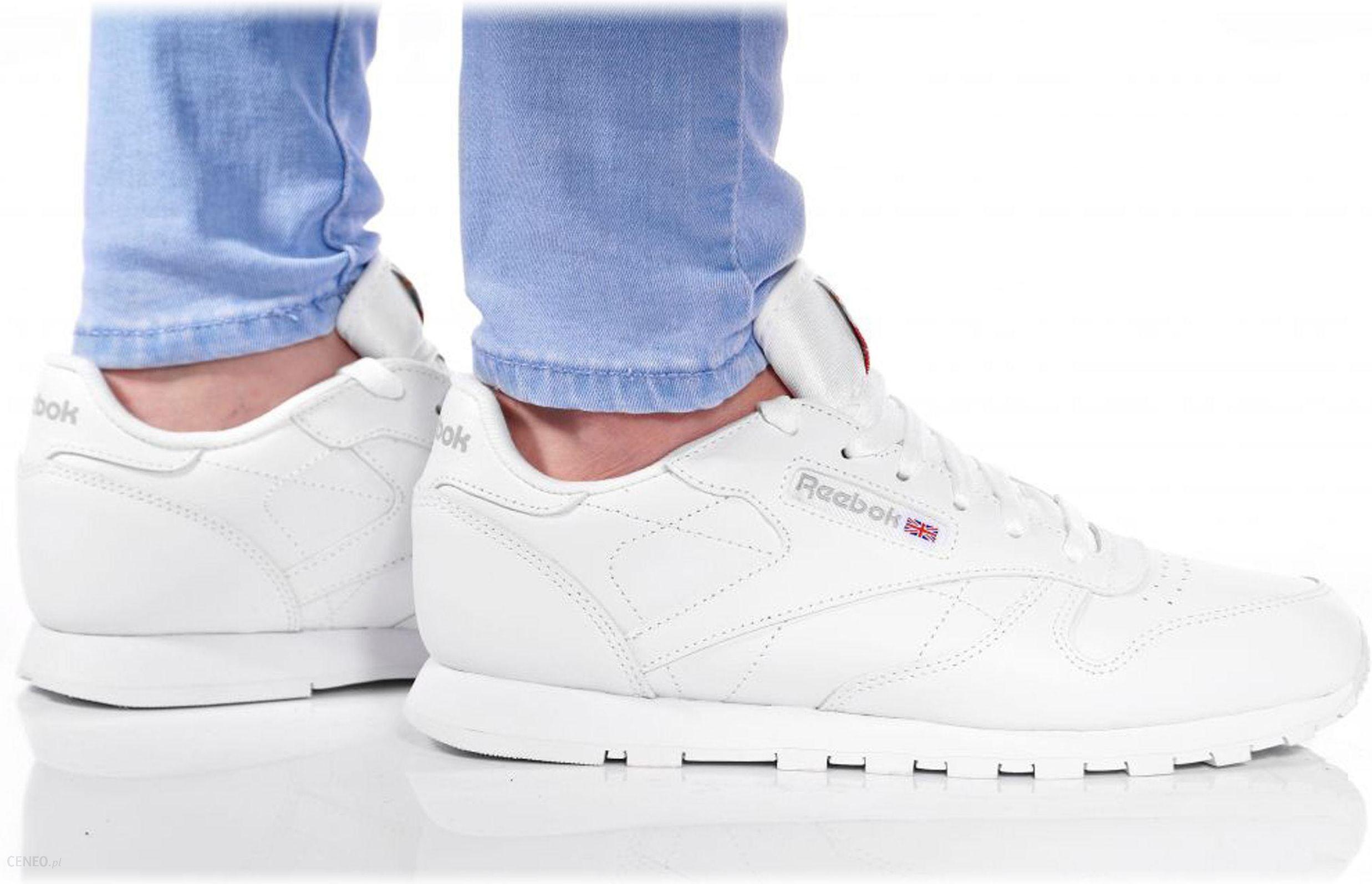 Reebok Classic Buty Pyro Reebook Classic Sneakersy damskie białe w