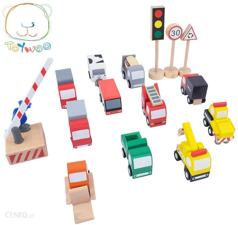 Aliexpress Toy Woo Toys For Children Wooden Road Traffic Sign Mini