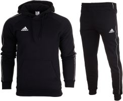 7b54847fb5d4 Adidas Dres Kompletny Meski Spodnie Bluza CORE18 M - Ceny i opinie ...