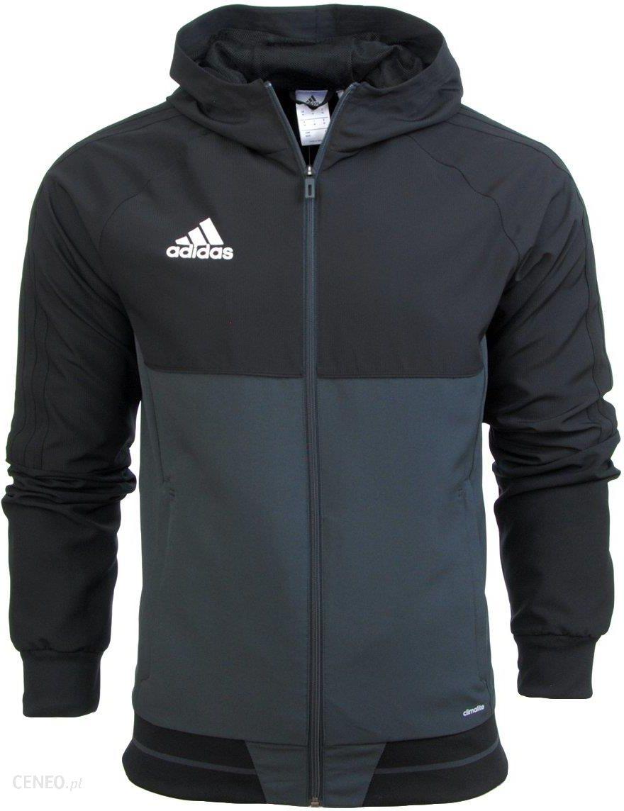 O adidas kurtka męska wiatrówka zip up czarna l Galeria