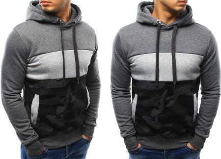 Bluza Adidas Z Kapturem Męska Kangurka (BQ4736) S Ceny i