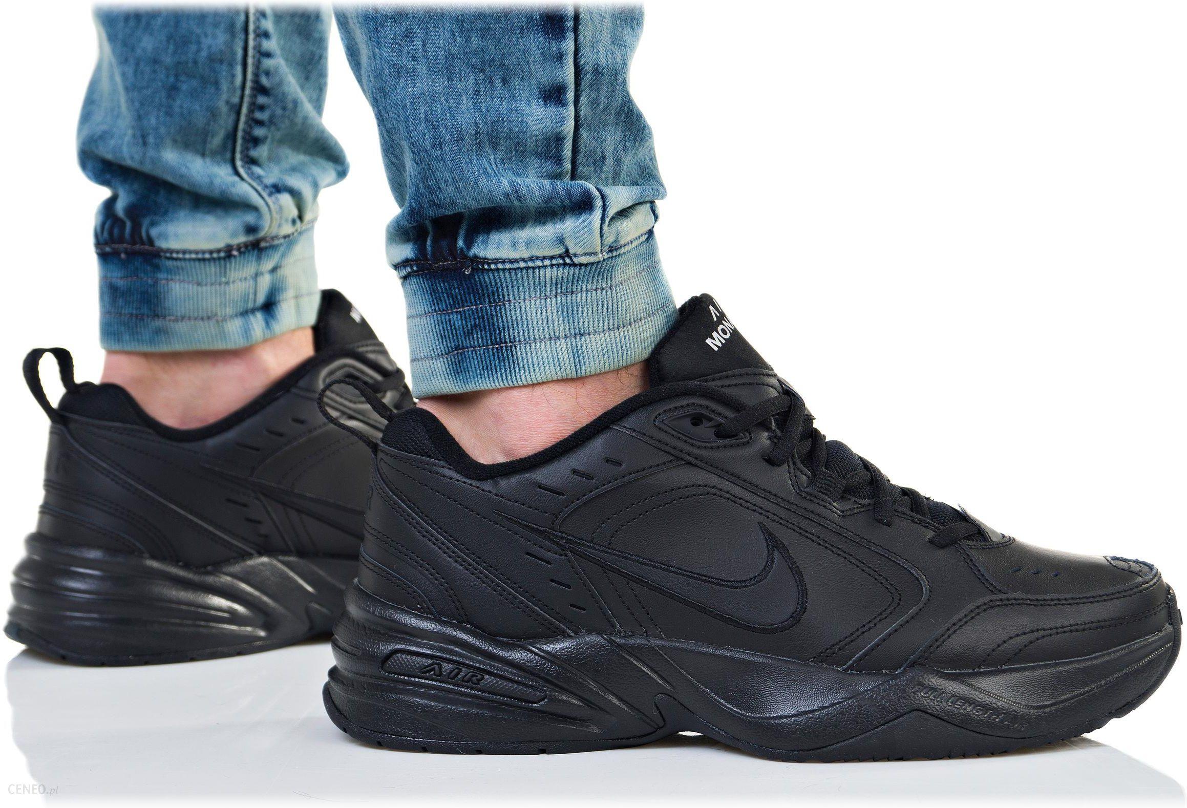 buty nike air monarch czarne