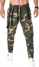 Spodnie dresowe jogging siłownia P692 czarne XL Ceny i