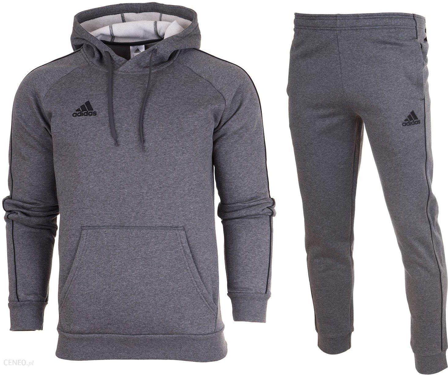 Adidas Dres Kompletny Meski Spodnie Bluza CORE18 M