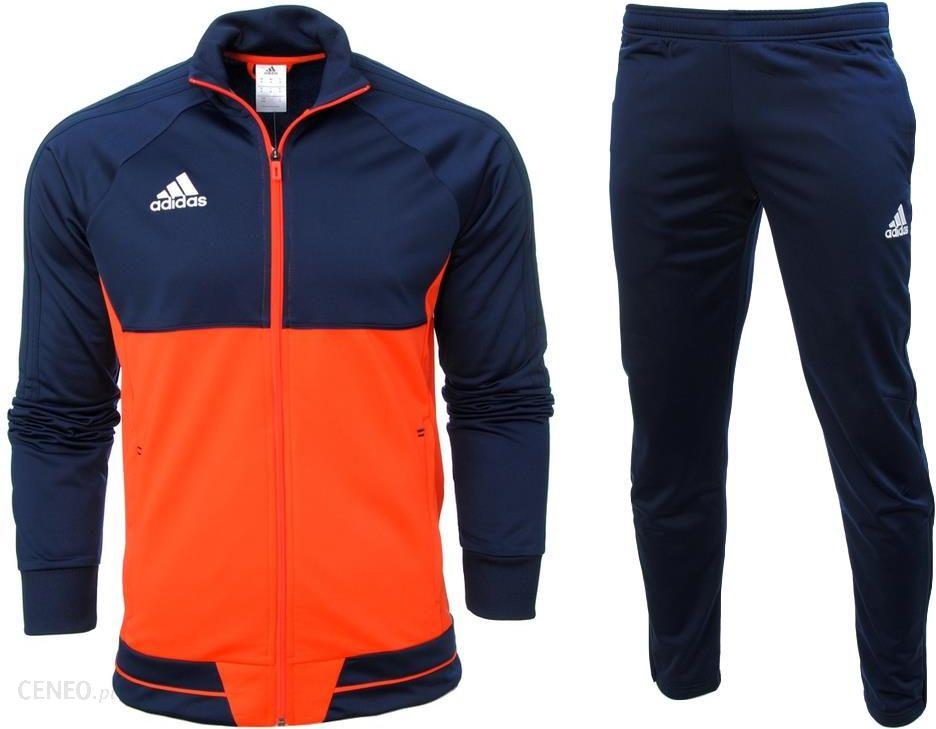 Dres męski Adidas Tiro 17 Granatowo niebieski