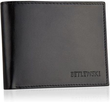 a13e070eb8da5 Skórzany portfel męski Betlewski poziomy ze skóry - Ceny i opinie ...