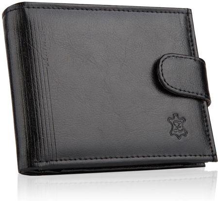 89011586b675f Skórzany portfel męski zamek mały zapinany Wild - Ceny i opinie ...