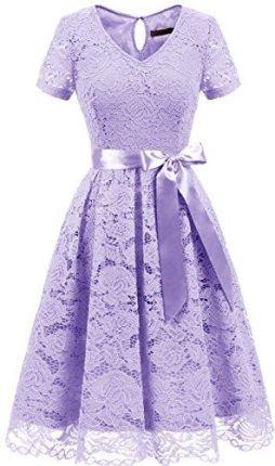 fada35eb3c Amazon dresstells damskie krótka sukienka druhny sukienka grotów wycięcie w  kształcie V elegancka koktajlowa suknia wieczorowa